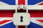 Bendera Inggris Dikunci dengan Gembok