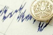 Diagram Satu Pound Koin Di Atas Kertas