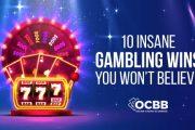 10 insane gambling wins